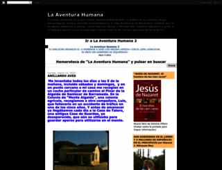 aventura-humana.blogspot.com screenshot