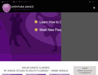 aventuradance.com screenshot