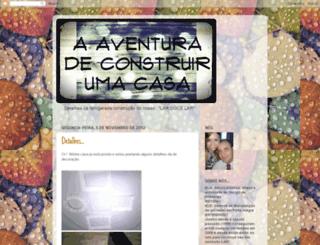 aventuradeconstruirumacasa.blogspot.com screenshot