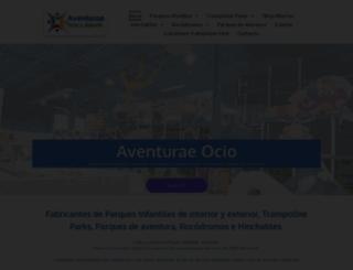 aventurae.com screenshot