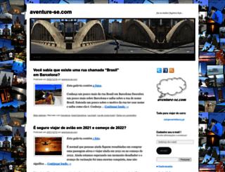 aventure-se.com screenshot