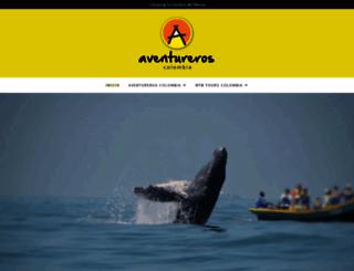 aventureros.co screenshot