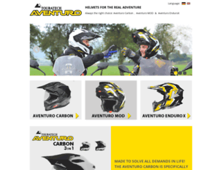 aventuro.touratech.com screenshot