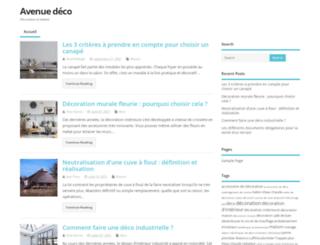 avenue-deco.com screenshot