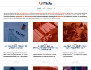 avenue-des-assures.com screenshot