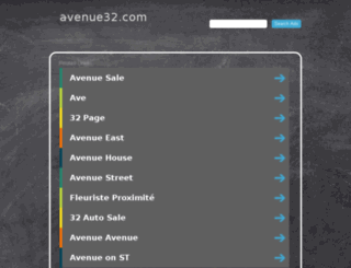 avenue32.com screenshot