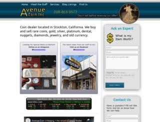 avenuecoininc.com screenshot