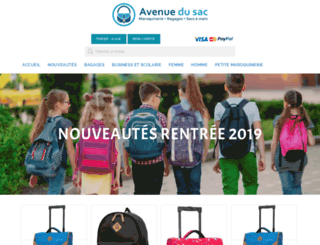 avenuedusac.fr screenshot
