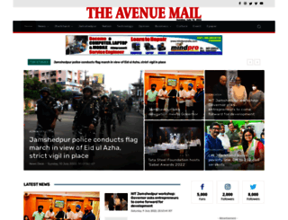avenuemail.in screenshot