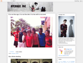 averagejoesupply.blogspot.com screenshot