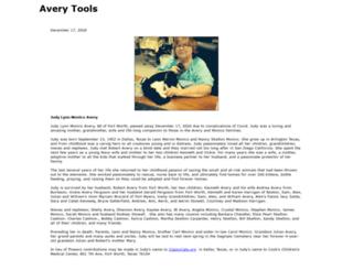 averytools.com screenshot