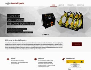avestaexports.com screenshot