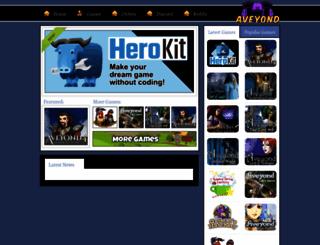 aveyond.com screenshot