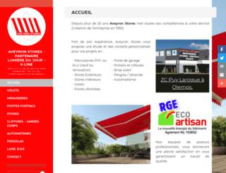 aveyron-stores.fr screenshot