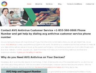 avg-support.org screenshot