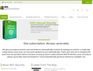 avgisecurity.com screenshot