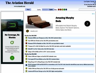 avherald.com screenshot