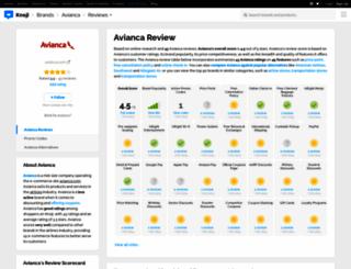 avianca.knoji.com screenshot