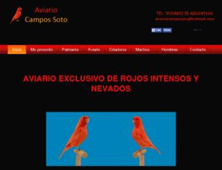 aviariocamposoto.com screenshot