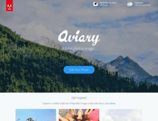 aviary.com screenshot