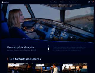 aviasim.fr screenshot
