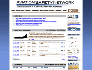 aviation-safety.net screenshot