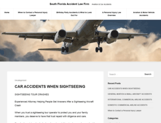 aviationaccidentlawfirm.com screenshot