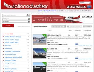 aviationadvertiser.com.au screenshot