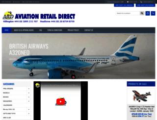 aviationretaildirect.co.uk screenshot