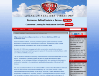 aviationservicesdirectory.com screenshot