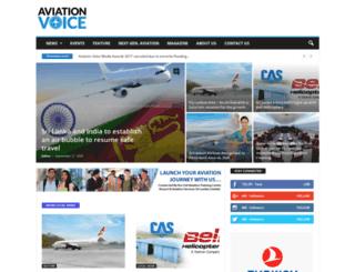 aviationvoice.lk screenshot