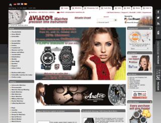 aviator-watches.de screenshot