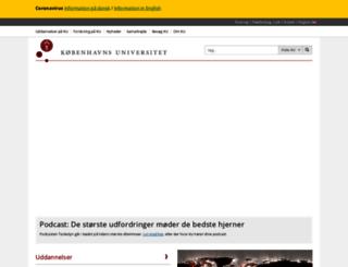 avicenna.ku.dk screenshot