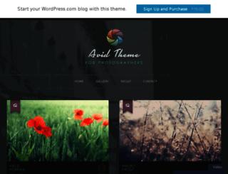 aviddemo.wordpress.com screenshot