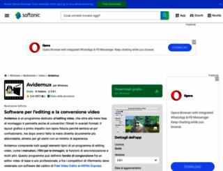 avidemux.softonic.it screenshot