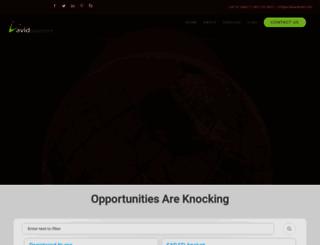 avidplacement.com screenshot
