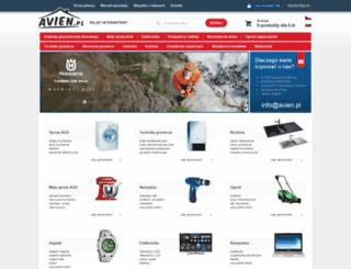 avien.pl screenshot