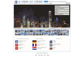aviewoncities.com screenshot