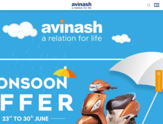 avinashgroup.com screenshot
