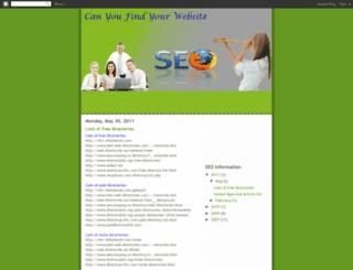 avinashseo.blogspot.com screenshot