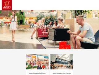 avionshoppingpark.cz screenshot