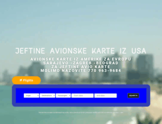 avionskekarte.net screenshot