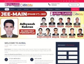 aviral.co.in screenshot