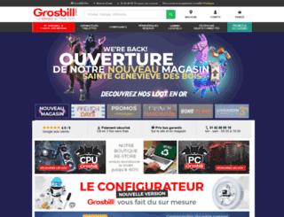 avis-clients.grosbill.com screenshot
