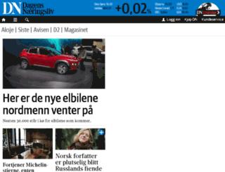 avis.dn.no screenshot