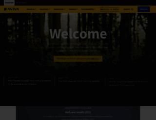aviva.com screenshot
