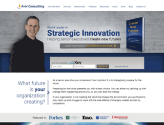 avivconsulting.com screenshot