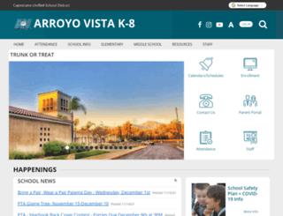 avk8-capousd-ca.schoolloop.com screenshot