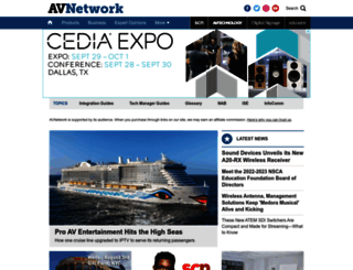 avnetwork.com screenshot