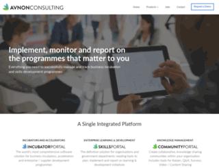 avnonconsulting.com screenshot